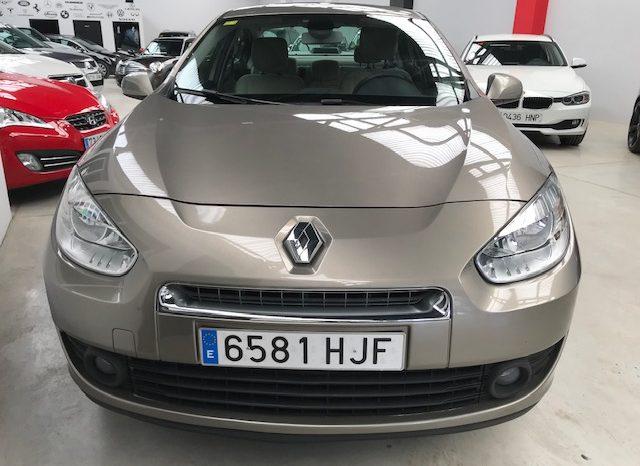 Renault Fluence 1.5 dci 110cv año 2012 completo