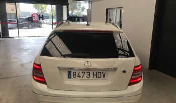 Mercedes Benz Clase C C 220 Blue Efficency Avantgarde 170 CV completo