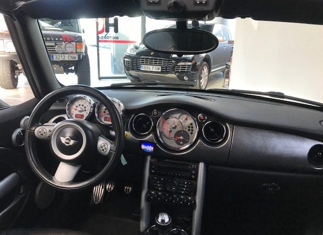 Mini cooper S cabrio 1.6 i 170cv completo