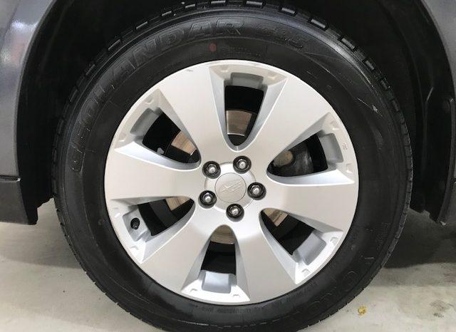 Subaru Outback 2.5 i 167 cv 4×4 año 2010 completo
