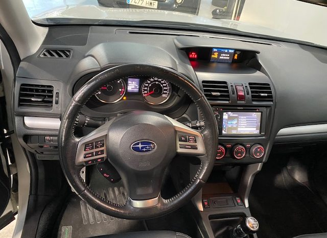 Subaru Forester 2.0D 4×4 147cv lleno